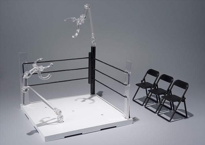 Tamashii Stage - Act. Ring Corner & Pipe Chair set - Neutral