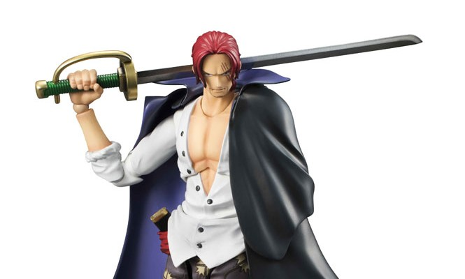 Variable Action Heroes - ONE PIECE: Red-Haired Shanks