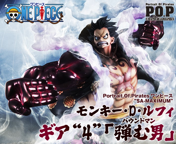 Portrait Of Pirates One Piece Sa Maximum Monkey D