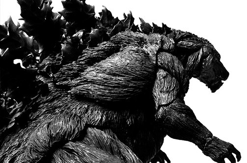 S.H.MonsterArts Godzilla (2017) - Initial production limited edition -