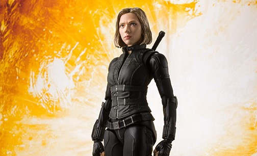 S H Figuarts Black Widow Avengers Infinity War