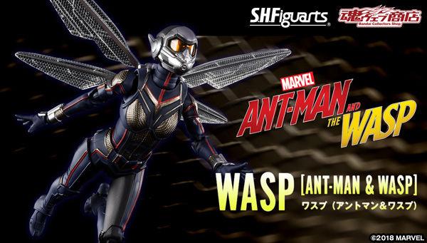 Bandai S.H.Figuarts Wasp Japan version Ant-Man and the Wasp