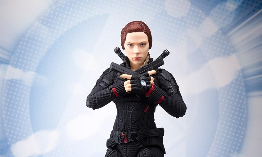 Hot S.H.Figuarts Marvel Avengers Endgame Black Widow Figure SH SHF 2019