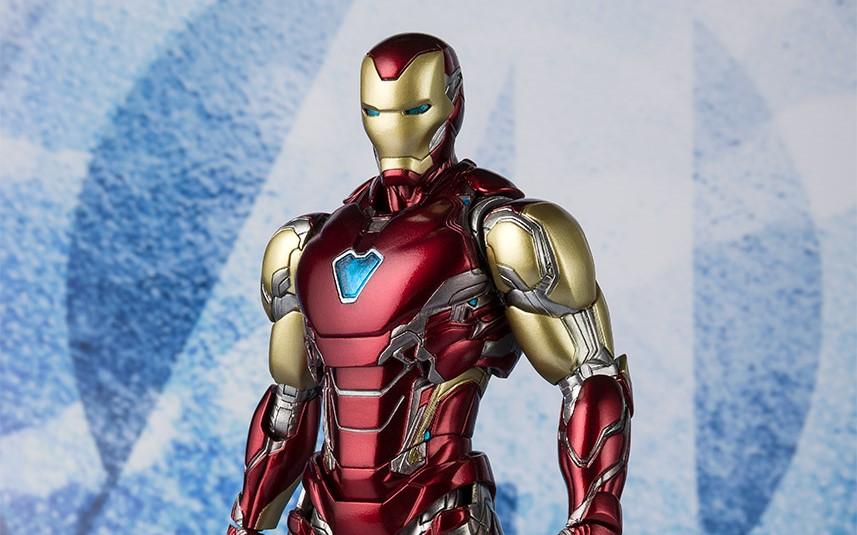 BANDAI S.H.Figuarts IRON MAN MARK 3 Action Figure Japan ABD PVC Die-cast