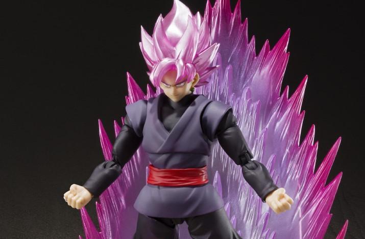 S.H.Figuarts SHF DBZ Dragon Ball Z Super Saiyan Gokou Black Rose Zamasu Figure