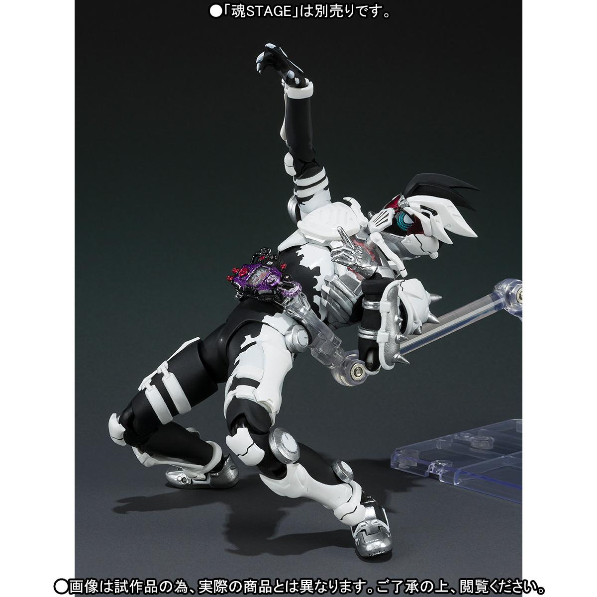 S.H.Figuarts Masked Kamen Rider EX-AID GENM ZOMBIE GAMER LEVEL X Figure BANDAI