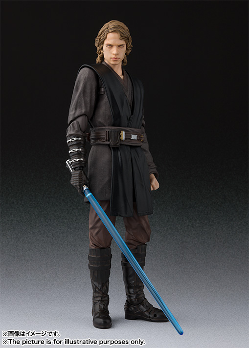 S H Figuarts Anakin Skywalker Revenge Of The Sith
