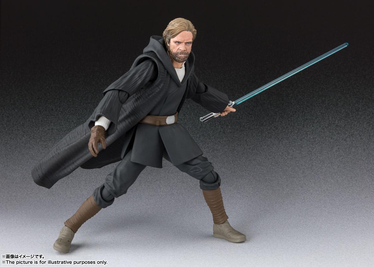 S.H.Figuarts Luke Skywalker Battle of Crait Ver STAR WARS The Last Jedi JP