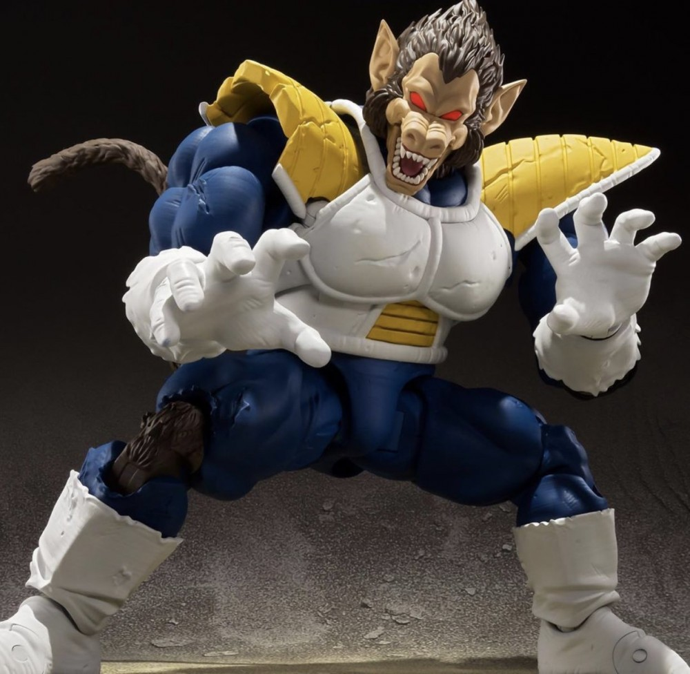 Figuarts Action Figure Par Tamashii Great Ape Mélange Vegeta S.H * Nouveau Dragon Ball Z
