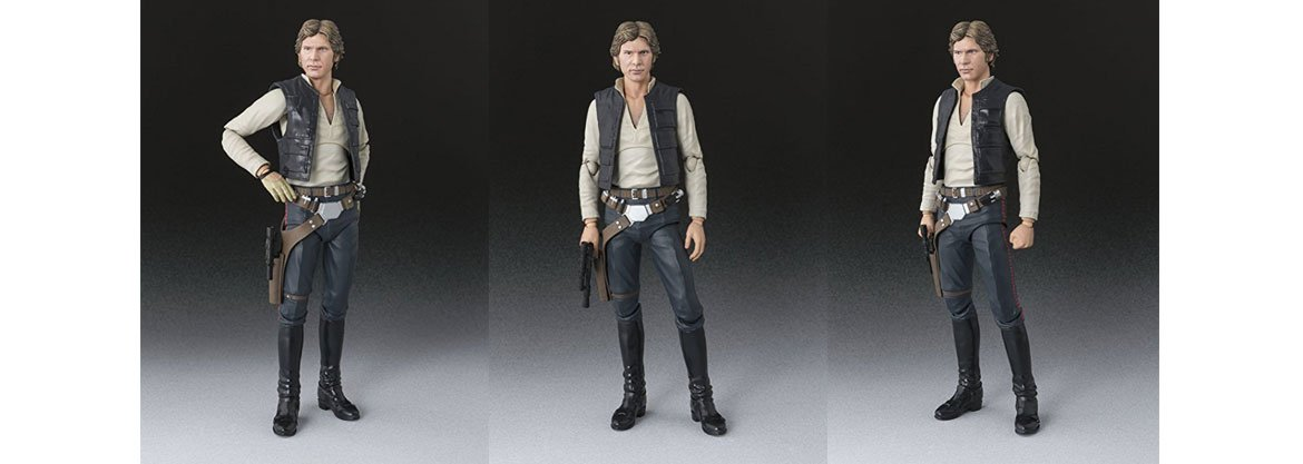 S.H.Figuarts Star Wars Han Solo(A NEW HOPE)