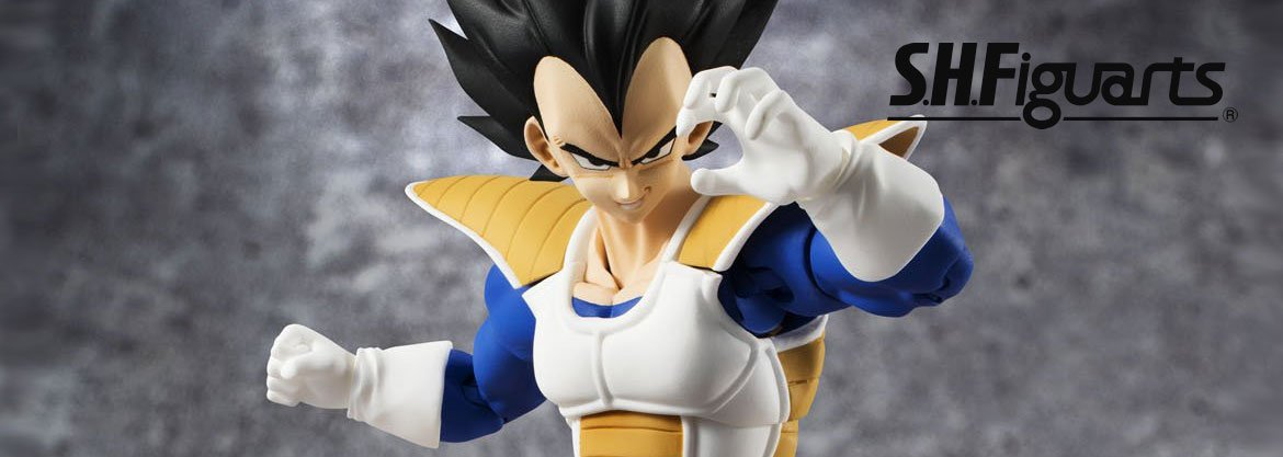 "Bandai Tamashii Nations S.H. Figuarts Vegeta ""DRAGON Ball Z&"