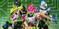 S.H.Figuarts Rider Eguzeido Mighty action X beginning set