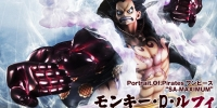 "Portrait.Of.Pirates One piece ""SA-MAXIMUM"" Monkey · D · Luffy Gear ""4"" Bounce-Man"