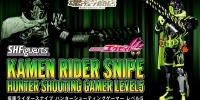 S.H.Figuarts Kamen Rider Snipe Hunter Shooting Gamer Level5