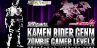 S.H.Figuarts Kamen Rider Genm Zombie Gamer Level X