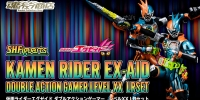 S.H.Figuarts Kamen Rider EX-AID Double Action Gamer Level XX LRSet